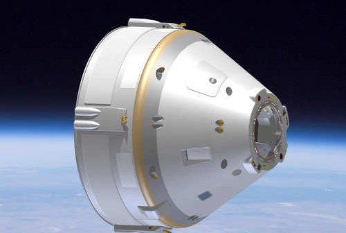 Projekt kapsuły CST-100, przygotowywanej przez The Boeing Co. / Źródło: The Boeing Co.