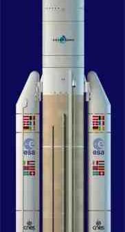 Ariane 5, wariant ESV / Credits: Arianespace