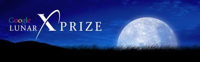 Logo konkursu Google Lunar X Prize / Credits - GLXP