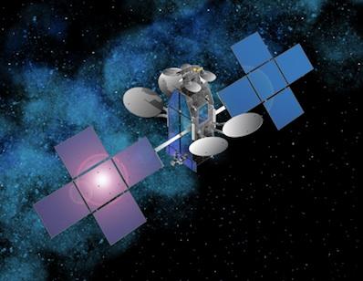 ViaSat-1 - wizualizacja / Credits: Space Systems/Loral