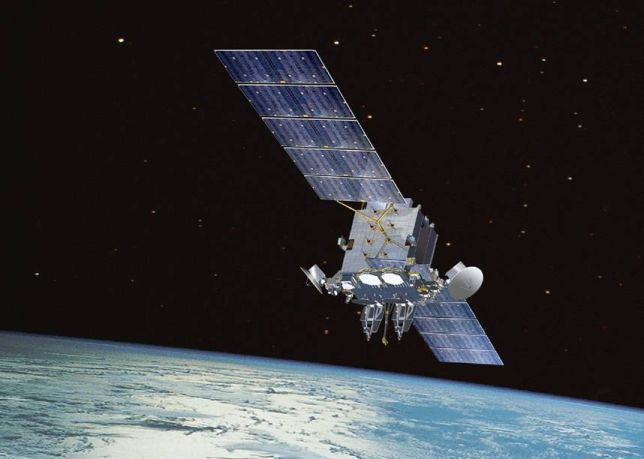 Satelita AEHF - wizualizacja / Credits: Lockheed Martin