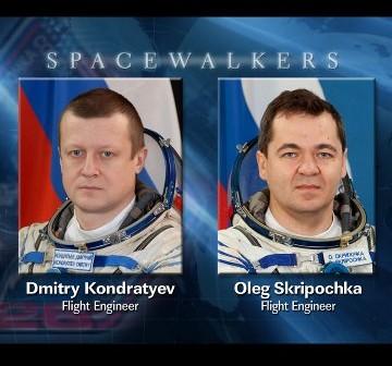 Spacer kosmiczny EVA-27 / Credits - NASA