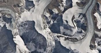 Himajale, tuż nieopodal Mount Everest / Credits - NASA