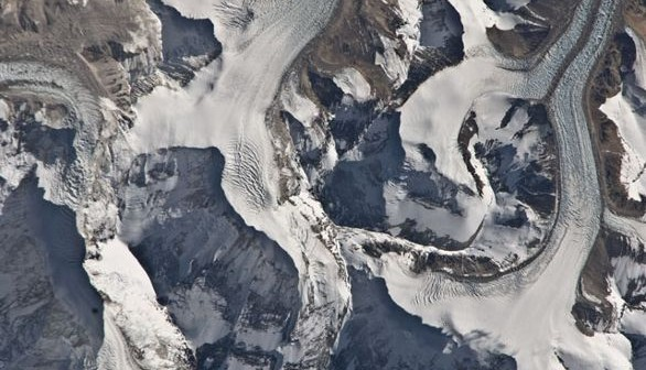 Himajale, tuż nieopodal Mount Everest / Credits - NASA