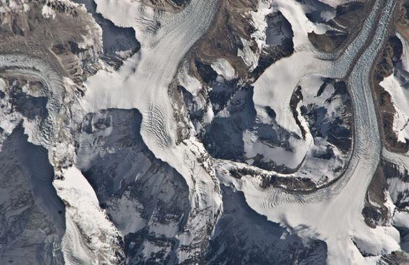 Himajale, tuż nieopodal Mont Everest / Credits - NASA