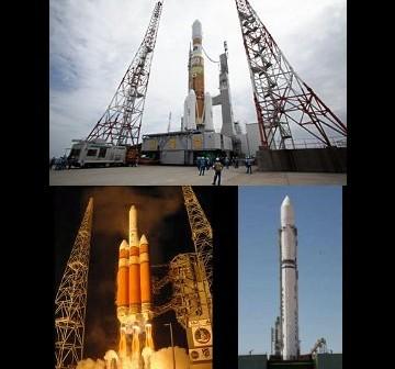 Rakietowy czwartek / Credits - JAXA, United Launch Alliance, Jużnoje