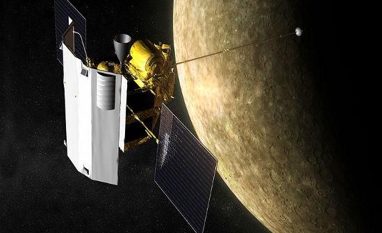 Wizja artystyczna sondy Messenger (NASA)