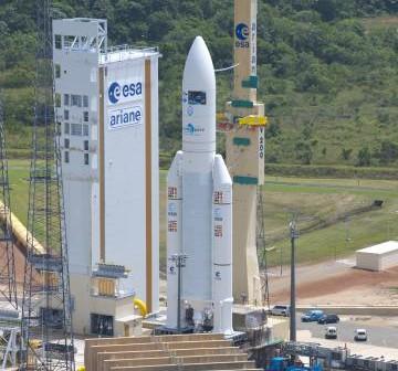 Rakieta Ariane 5 / Credits: ESA