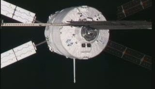 Dokowanie ATV-2 do ISS / Credits: NASA