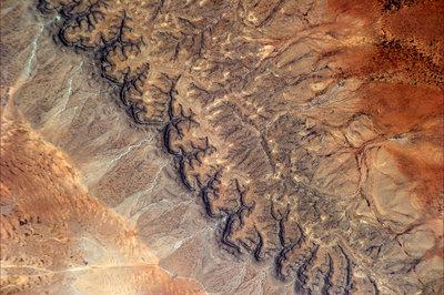 Pustynia w Somalii sfotografowana w dniu 30 stycznia 2011 roku. (Credits: ESA/NASA)
