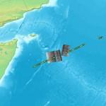 Tankowiec Savina Caylyn obserwowany przez satelity Cosmo-Skymed / Credtis: ASI