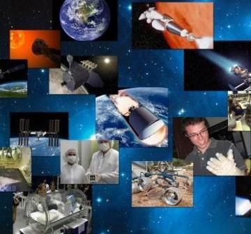 Jedna z grafik ukazująca mnogość programów w 'nowej erze NASA' / Credits - NASA