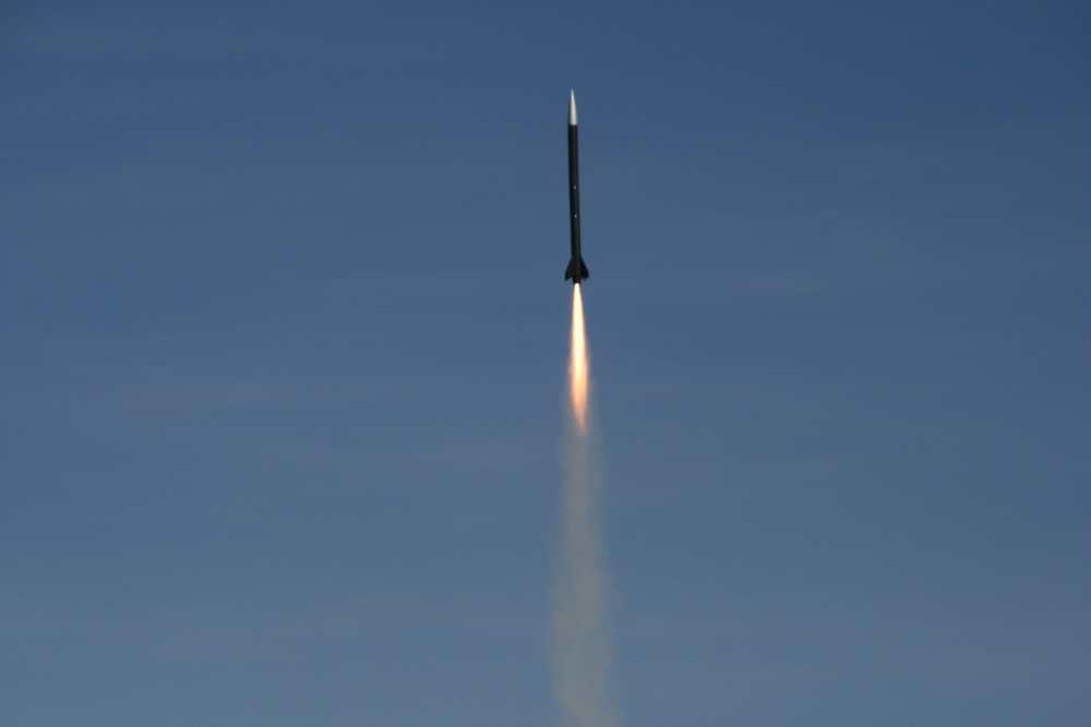 Start rakiety RTP2 / Credits: PTR