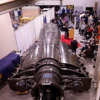 Dream Chaser – mały wahadłowiec załogowy firmy Sierra Nevada Corp. w budowie/ Źródło: NASA