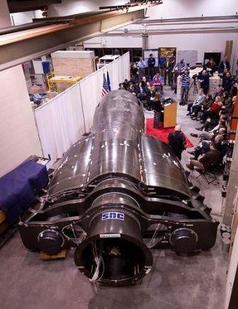 Wahadłowiec Dream Chaser w budowie / Credits - NASA
