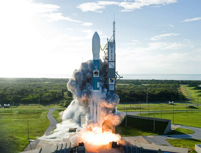 Start rakiety Delta-2 z satelitami STSS-1 i STSS-2 / Credits: NASA