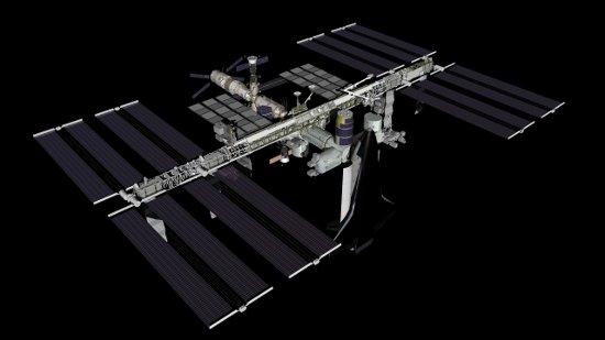 ISS w trakcie misji STS-133 / Credits - NASA