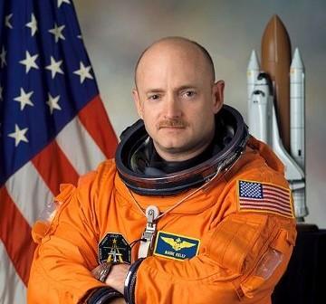 Astronauta Mark E. Kelly (NASA)