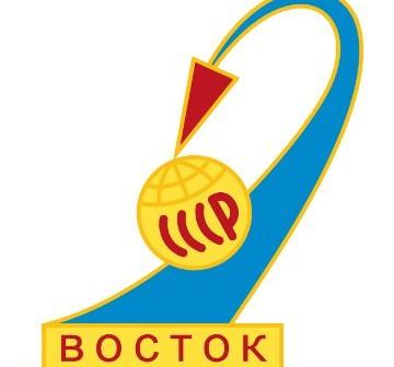 Logo historycznej misji Wostok 1