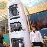 Przekrój przez górny stopień rakiety Kavoshgar-4 / Credits: Agencja FARS