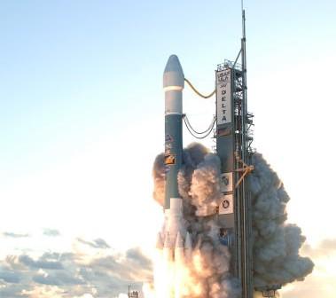 Start rakiety Delta II z sondą Dawn, 27 września 2007 / Credits: NASA