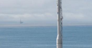 Rakieta Taurus XL oczekująca na start w misji satelity Glory (NASA/VAFB)