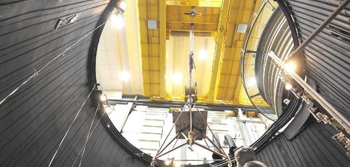 Juno przygotowywana do testów termicznych / Credits: NASA-JPL