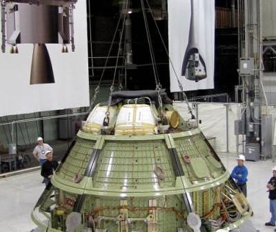 Model inżynieryjny pojazdu Orion (NASA)