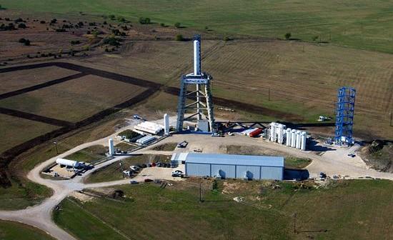 Stanowisko testowe SpaceX w McGregor w Teksasie, na którym będą odbywały się loty testowe Grasshoppera / Żródło: SpaceX