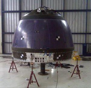 Kabina załogowa pojazdu New Shepard firmy Blue Origin / Credits - NASA