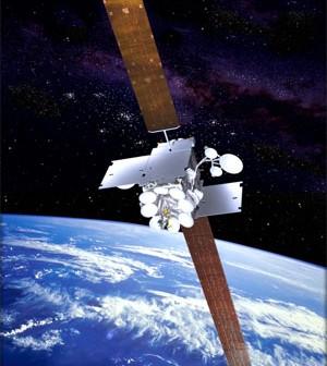 Inmarsat-5 - wizualizacja / Credtis: Boeing