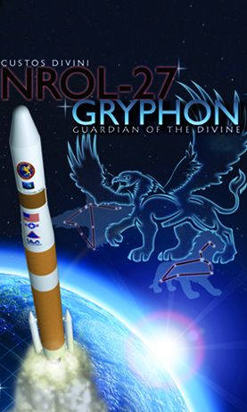 Plakat misji NROL-27 (United Launch Alliance)