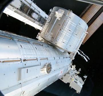 Widok na moduł Kibo. Zdjęcie z 26 lutego 2011 / Credits - NASA