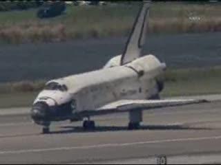 18:00 CET - kilkadziesiąt sekund po zatrzymaniu / Credits - NASA TV