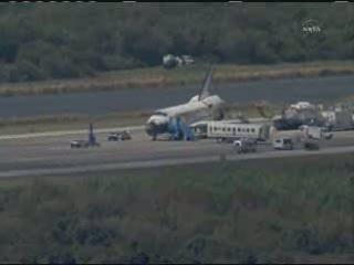 18:19 CET - czynności post-landing / Credits - NASA TV