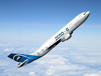 Airbus A300 'Zero-G' / Credits: ESA