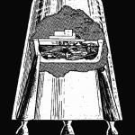 Pojazd kosmiczny mający zabrać człowieka w samotną podróż na misję wokółksiężycową Cole'a i Muira (D. Cole/D. Muir)