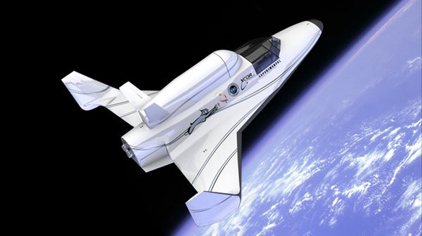 Suborbitalny samolot rakietowy Lynx firmy XCOR / Credits: XCOR