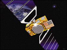 Satelita Galileo - wizja artystyczna / Credits: ESA