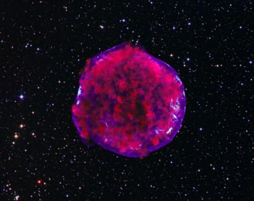 Credit: X-ray: NASA/CXC/Rutgers/K.Eriksen et al.; Optical: DSS