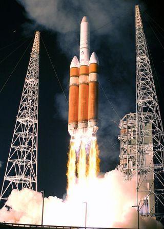Rakieta Delta IV Heavy / Credits: ULA