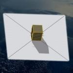 Wizualizacja urządzenia MDS dla małego satelity / Credits - Maciej Urbanowicz