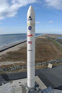 Wizja artystyczna rakiety Taurus II / Credits: Orbital