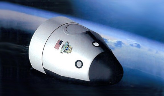 Kapsuła Space Vehicle firmy Blue Origin / Credits - Blue Origin