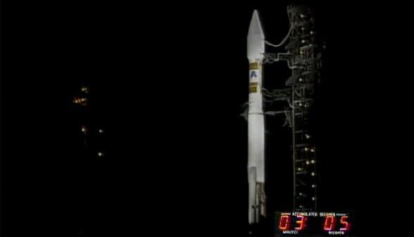 Kadr z transmisji startu Atlasa 5 z NROL-34 / Credtis: JMVH