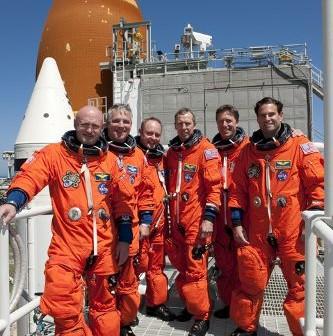 Trening TCDT, który załoga misji STS-134 przeszła kilka dni temu / Credits - NASA, Kim Shiflett