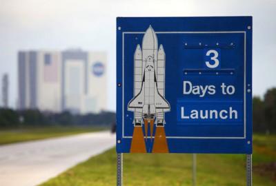 Odliczanie rozpoczęte, do startu pozostały 3 dni! / Credits: NASA
