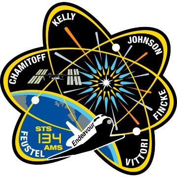 Emblemat misji STS-134 / Credits - NASA