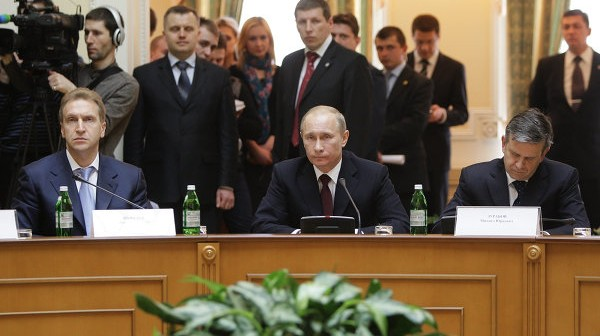 Władimir Putin podczas wizyty na Ukrainie / Credits: RIA Nowosti - Aleksiej Druginyn