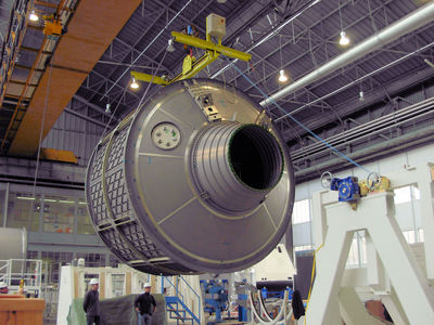 Sekcja ciśnieniowa ATV-4 / Credits: ESA